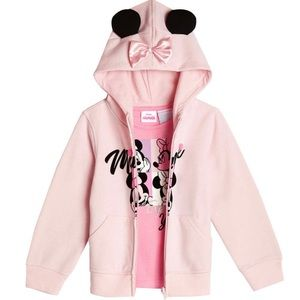 NWT Minnie Mouse 2 piece hoodie and shirt